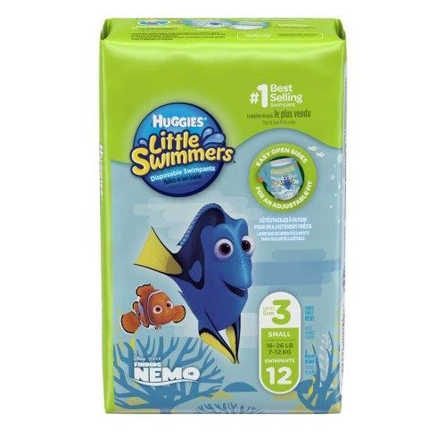 HUGGIES LITTLE SWIMMERS 3-4KG