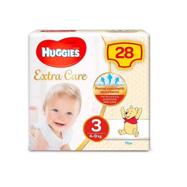HUGGIES EXTRA CARE TG3 4/9
