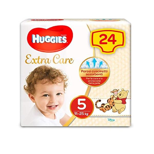 HUGGIES EXTRA CARE TG5 11-25KG