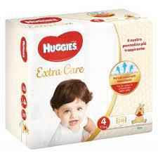 HUGGIES EXTRA CARE TG 4  7/18  26PZ