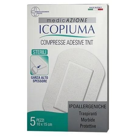 ICOPIUMA COMPRESSE ADESIVE 10X15 CM