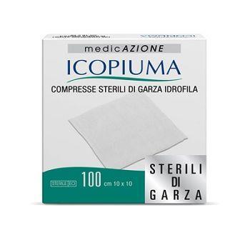 ICOPIUMA 100 COMR. GARZA 10X10 STERILI