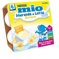 NESTLE MIO MERENDA LATTE/BANANA GRX100X4