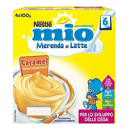 NESTLE MIO MERENDA CARAMELLO GR100X4