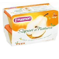 PLASMON FRUTTA GRATTUGIATA PERA GR 100X4