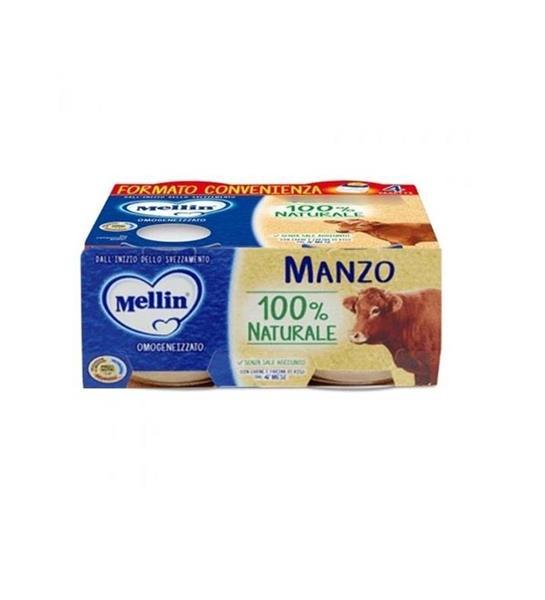 MELLIN OMO CARNE 4X80 MANZO