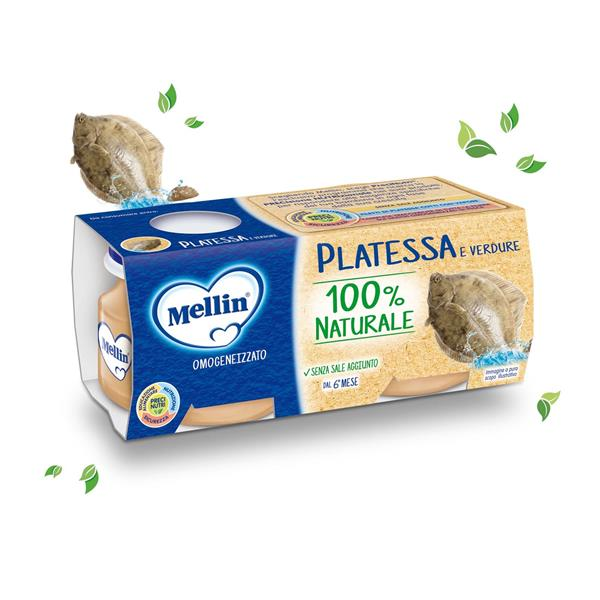 MELLIN OMO PESCE PLATESSA GR80X2