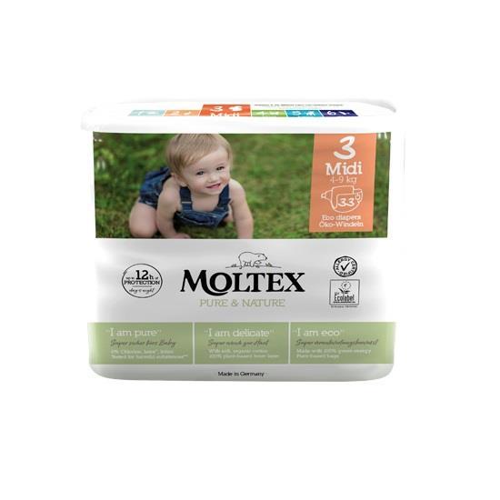 MOLTEX PANNOLINI ECO TG.3  4-9 KG