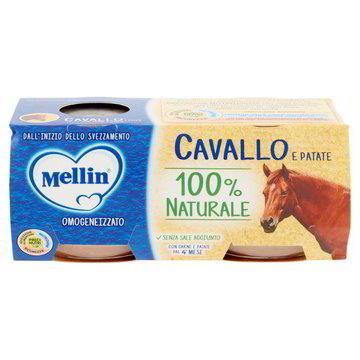 MELLIN OMO CARNE CAVALLO GR80X2
