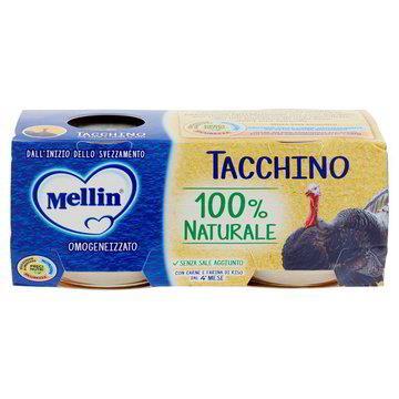 MELLIN OMO CARNE TACCHINO GR80X2