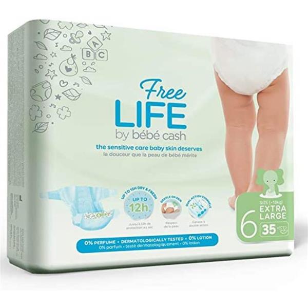 FREE LIFE PANNOLINO 6 XL 35 PZ