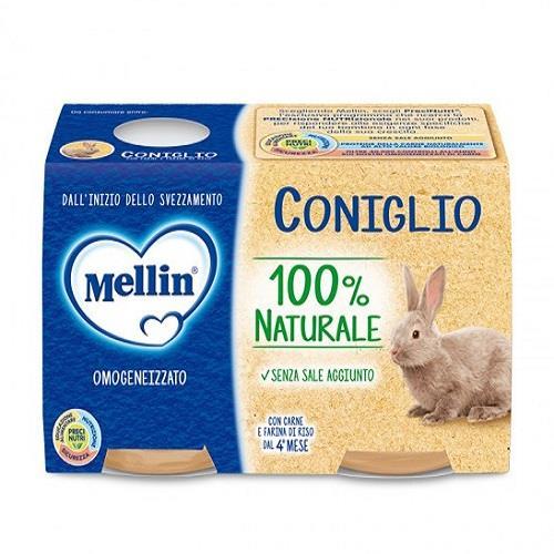 MELLIN OMO CARNE CONIGLIO GR80X2