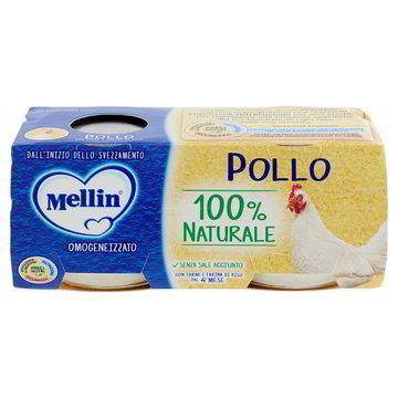 MELLIN OMO CARNE POLLO GR80X2