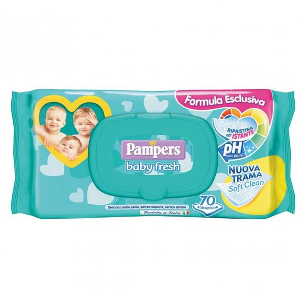 PAMPERS SALVIETTE  BABY FRESH 70PZ