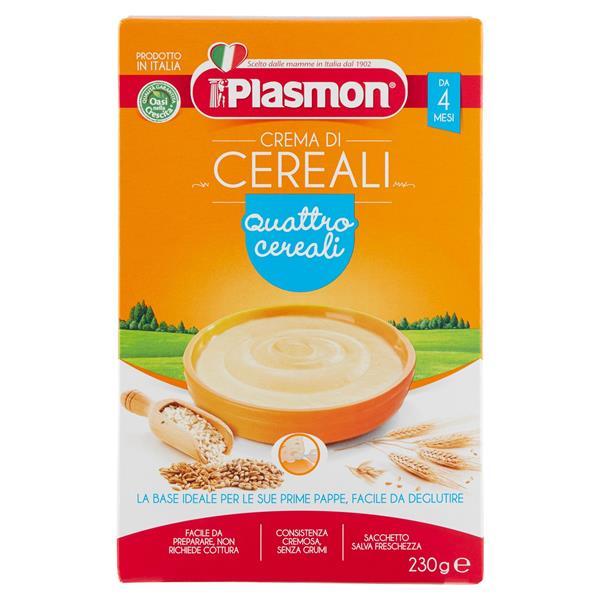 PLASMON CREMA 4 CEREALI GR 230