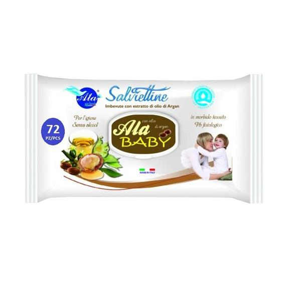 AIR SALVIETTE IMBEVUTE 72PZ ARGAN