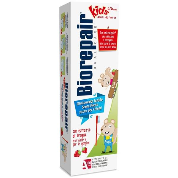 BIOREPAIR DENTIFRICIO FRAGOLA 0-6 ANNI 50ML