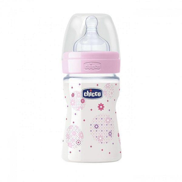 CHICCO BIBERON GIRL ML150 SILICONE