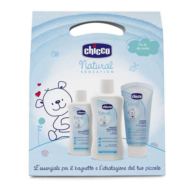 CHICCO COSM NAT SENS TRIAL SET