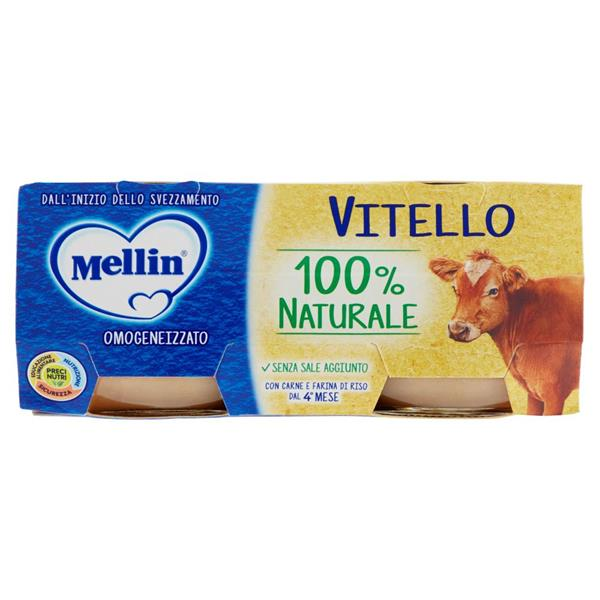MELLIN OMO CARNE 2X80 VITELLO