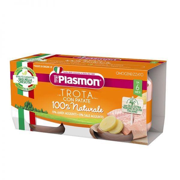 PLASMON OMO PESCE 2X80 TROTA