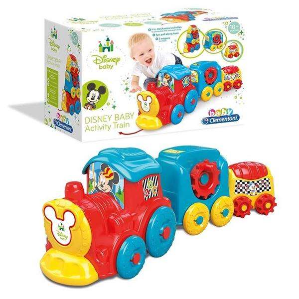 CLEMENTONI DYSNAY BABY ACTIVITY TRAIN