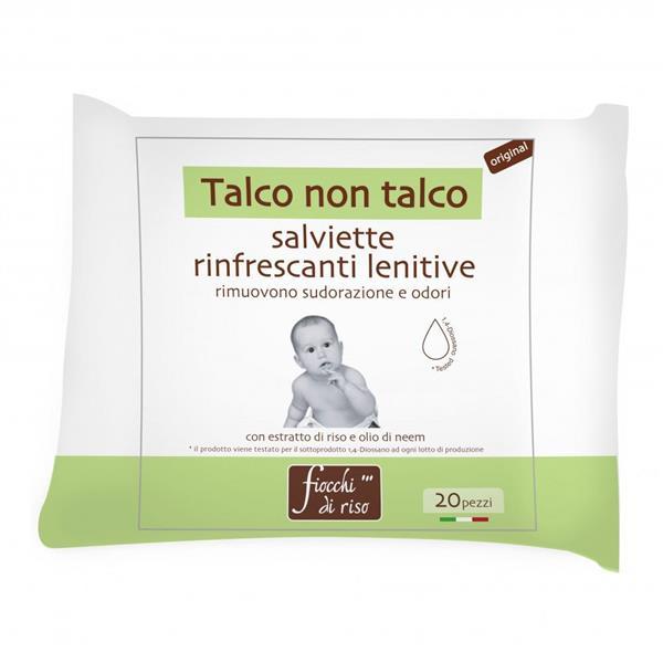 FIOCCHI DI RISO SALVIETTE LENITIVE 20 PZ.