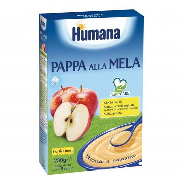 HUMANA FARINE PAPPA ALLA MELA GR230