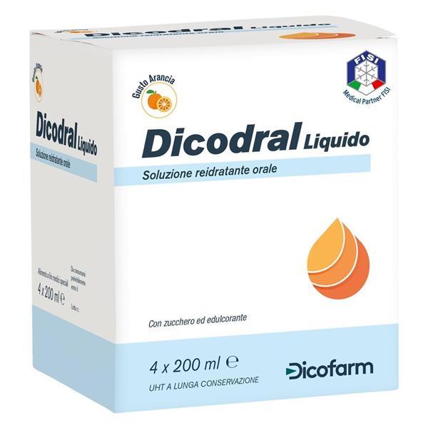 DICODRAL LIQUIDO X4 ARANCIA