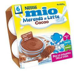 NESTLE MIO MERENDA LATTECACAO GR100X4