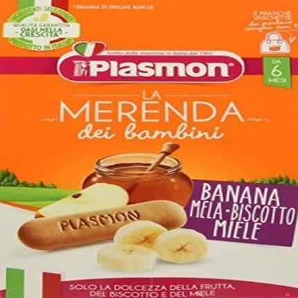 PLASMON OMO MERENDA 2X120 BANANA MELA BISCOTTO