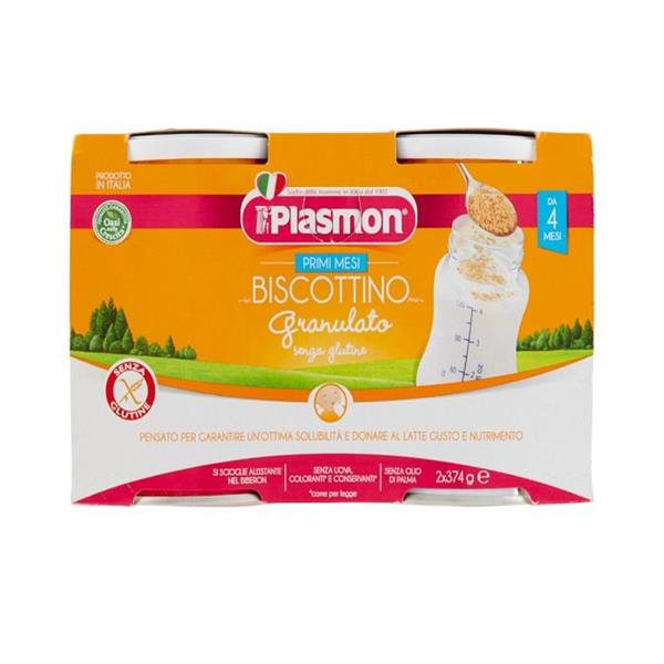 PLASMON BISCOTTO 2X374 GRANULATO