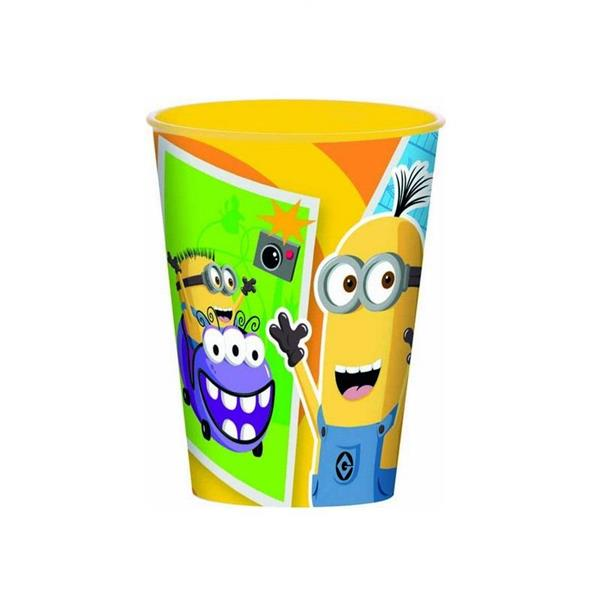 OLED MINIONS BICCHIERE PP 260ML