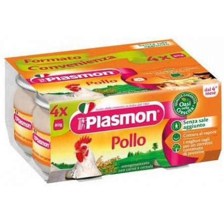 PLASMON OMO CARNE 4X80 POLLO