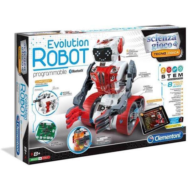 CLEMENTONI EVOLUTION ROBOT 8+