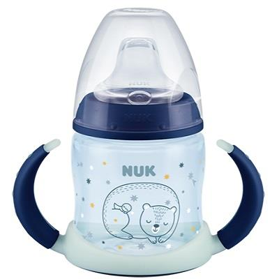 NUK BEVI R&B PP BLUE SIL 150ML