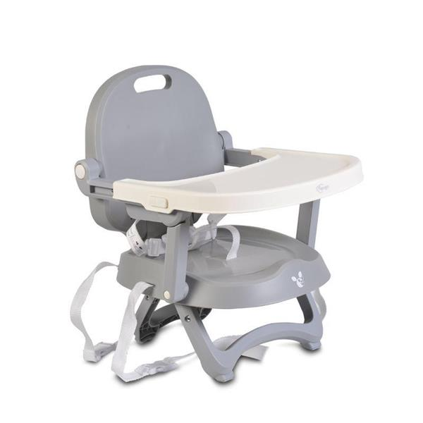 CANGARO BABY BOOSTER SEAT PAPAYA GREY