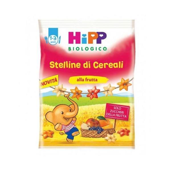 HIPP SNACK 30GR STELLINE DI CEREALI ALLA FRUTTA