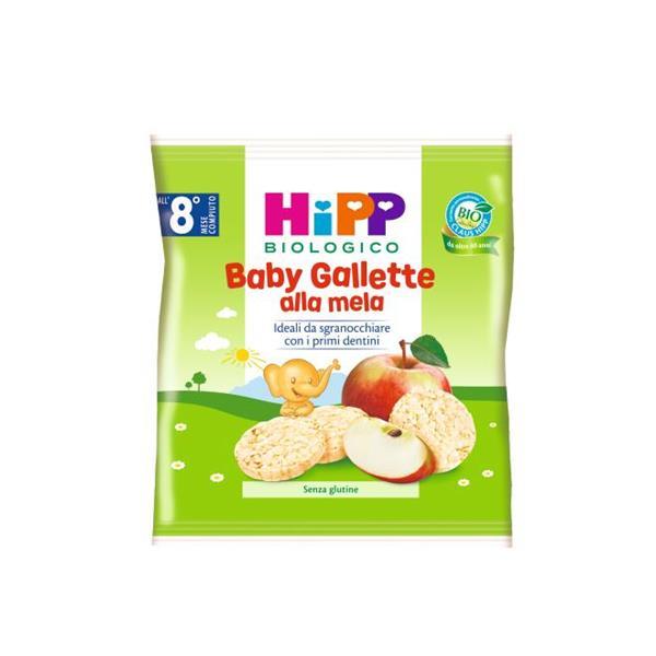 HIPP SNACK 30GR GALLETTE MELA