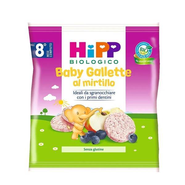 HIPP SNACK 30GR GALLETTE MIRTILLO