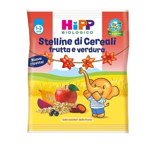 HIPP SNACK 30GR STELLINE FRUTTA E VERDURE