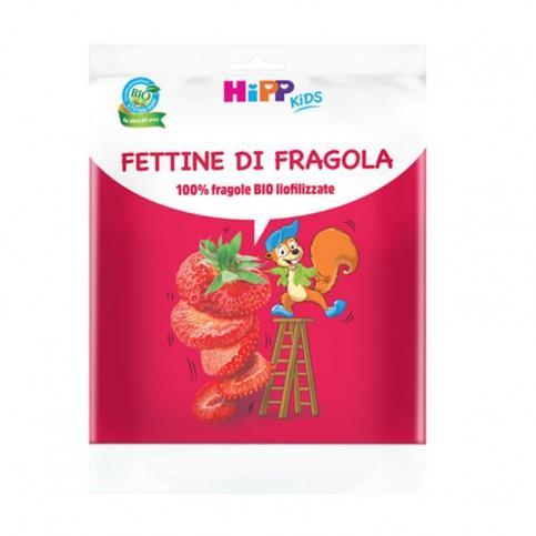 HIPP SNACK 10GR FETTINE DI FRAGOLA