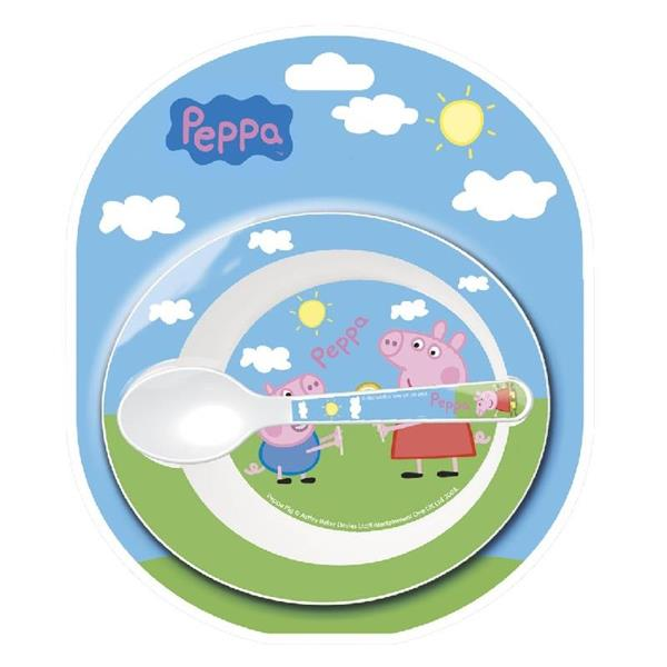 OLED PEPPA PIG CIOTOLA +CUCCHIAIO