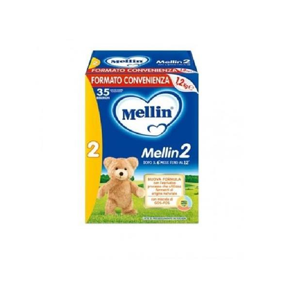 MELLIN 2 LATTE POLVERE KG1.2