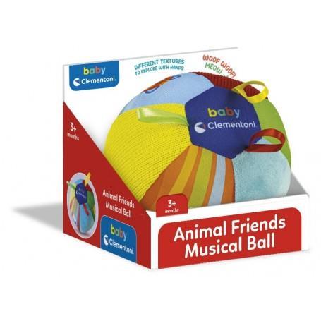 CLEMENTONI ANIMAL FRIENDS MUSICAL BALL