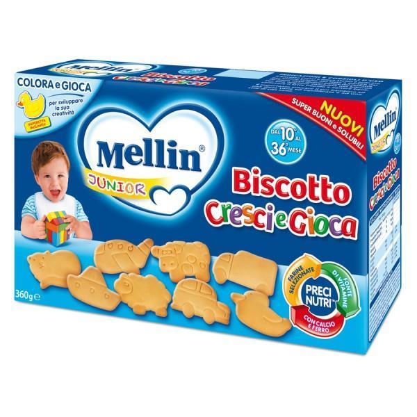MELLIN BISCOTTO CRESCI E GIOCA 360G