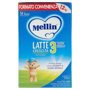 MELLIN 3 LATTE POLVERE KG1.2