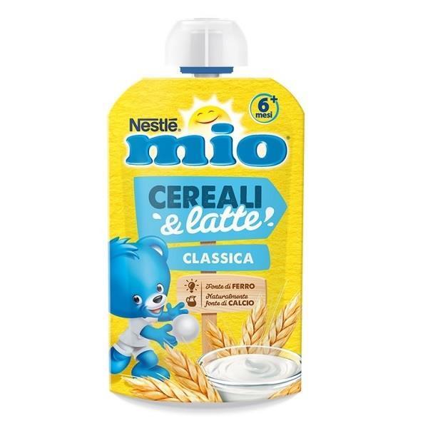 NESTLE MIO POUCH CEREALI&LATTE CLASSICO 110G