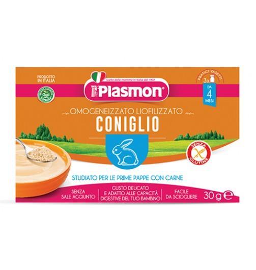 PLASMON LIOFILIZZATO CONIGLIO GR 10X3