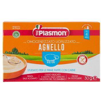 PLASMON LIOFILIZZATO AGNELLO GR 10X3